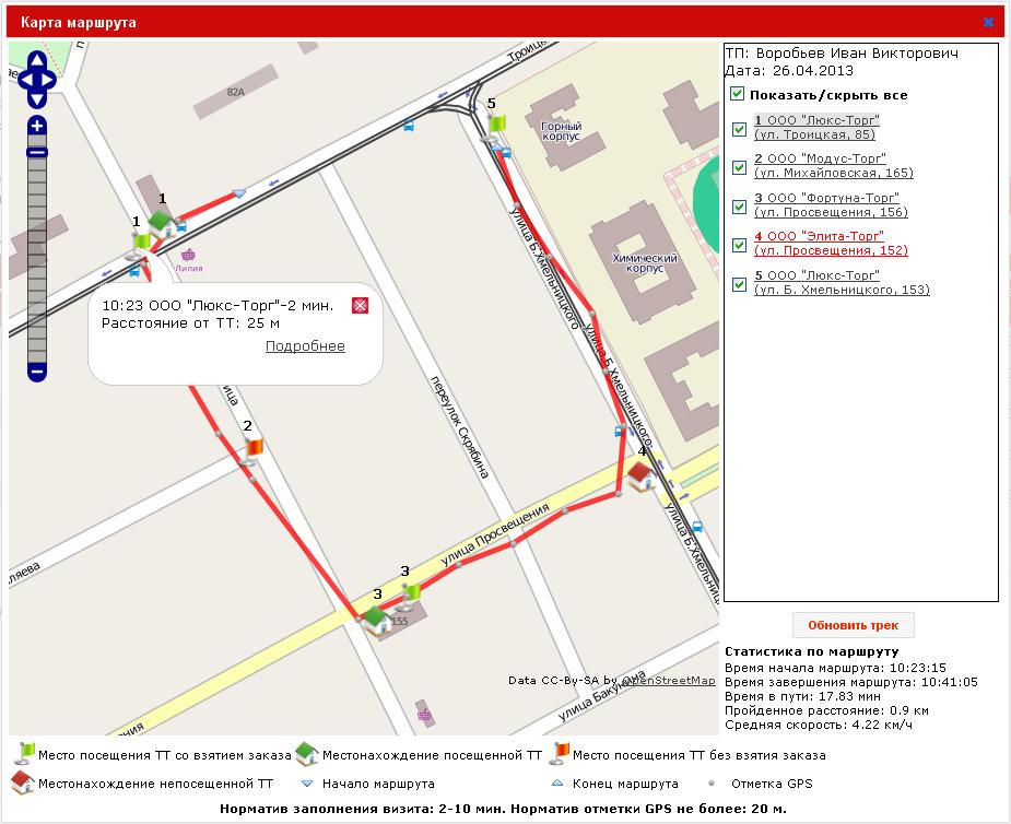 Как на карте сделать маршрут